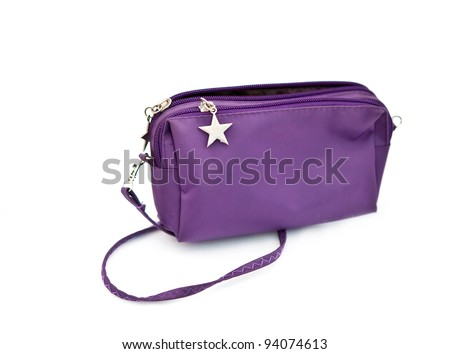 small bag isolated - stock photo