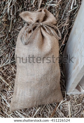 Small bags - stock photo