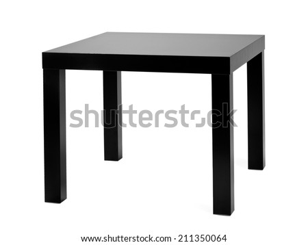 Small Black Coffee Table
