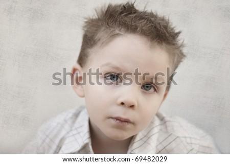 small boy - stock photo