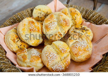 Small Bread Stuffed With Potatoes