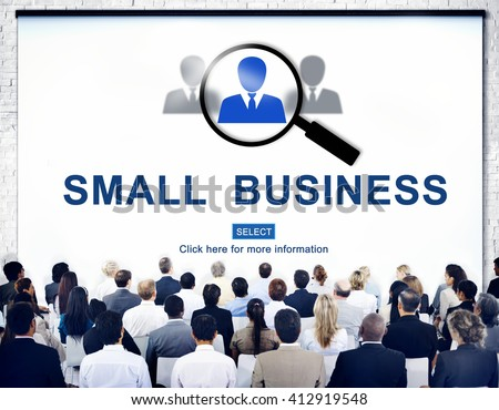 Small Business Information Development Niche Concept - stock photo