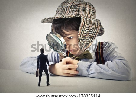 small businessman - stock photo