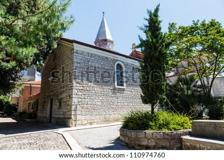 Small Church in the Resort of Opatija, Kvarner, Croatia - stock photo