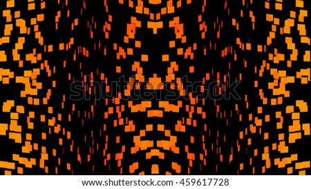 small cubes abstract background