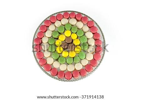 small dessert delights - stock photo