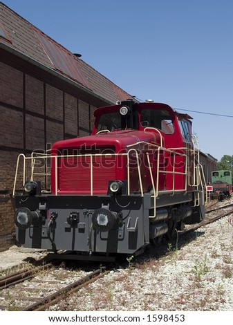 Small diesel fueled freight locomotive