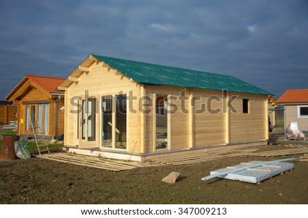 Small Ecological wooden houses