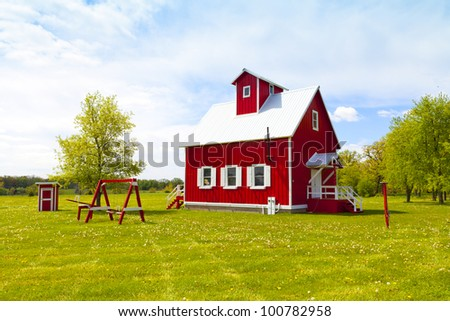 Small Farm House - stock photo