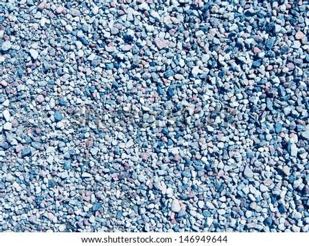 small granite stones background - stock photo