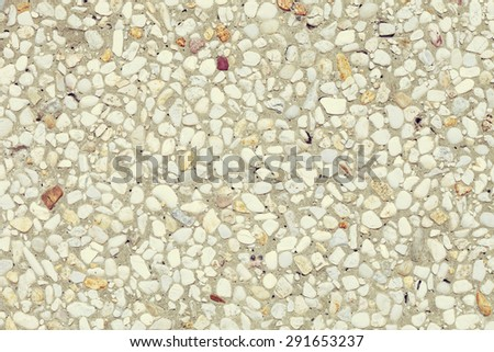 small gravel texture , wall background
