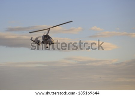 Small  Helicopter - stock photo