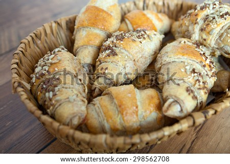 Small Homemade Bread - stock photo