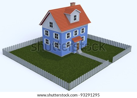 Small House - stock photo