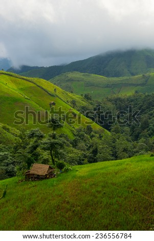 Small house in the mountain, Nan Thailand