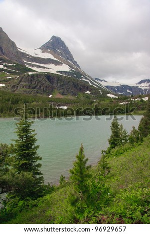 Small lake in Glacier National Park