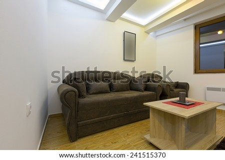 Small living room interior