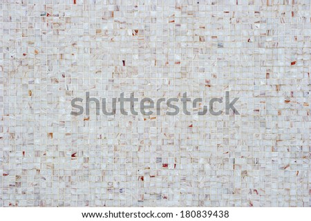 Small mosaic tiles background. - stock photo