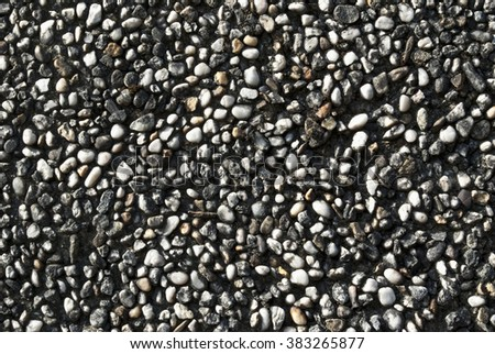 Small pebbles background