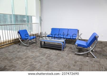 small reception room - stock photo