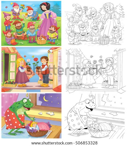 Fairy Tale Book Stock Images RoyaltyFree