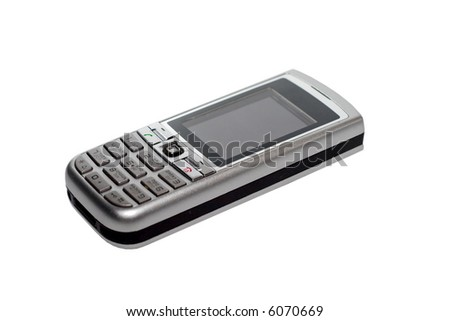 Small Silver Mobile Phone Device