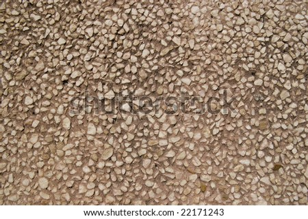 small stones wall for background - stock photo
