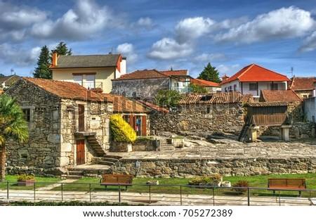Small village of Boticas, Portugal
