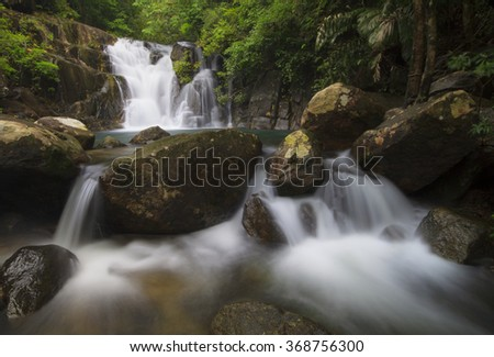 small waterfalls in thailand
