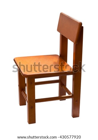 Small, Wooden Chair For Baby