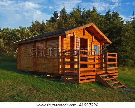 Wooden Cottage Stock Images Royalty Free Images Vectors