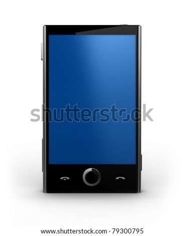 Smart Cellphone - stock photo