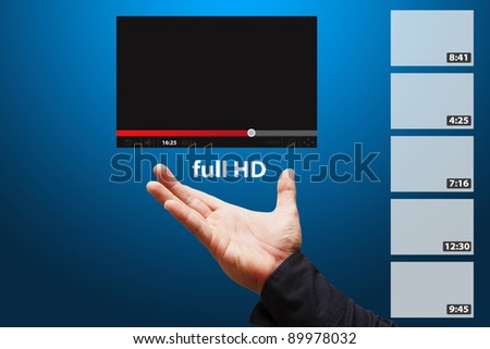 Smart hand present Download windows full HD