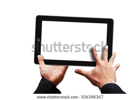 Smart hand touch on digital touch pad