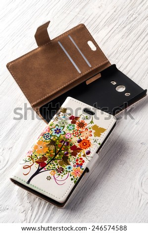 Smart mobile phone case - stock photo