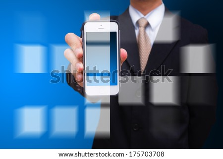 Smart phone and technology concept - stock photo