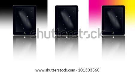 Smart Tablet Set with reflect