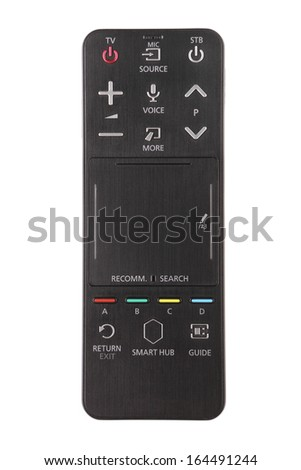 Smart tv touch remote control