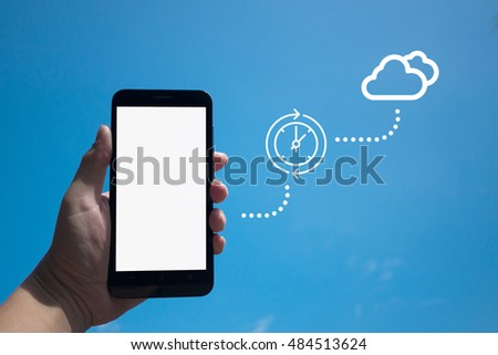 Smartphone Files Processing Into the Cloud
