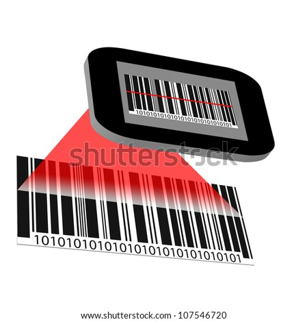 Smartphone scanning Barcode