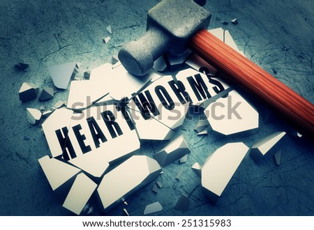 Smashing heartworms