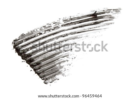 Smear of mascara - stock photo