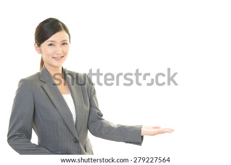 Smile of business woman