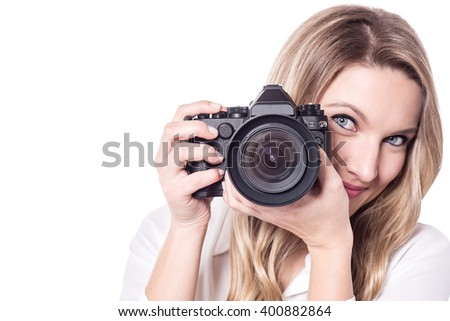 Smile please... Are you ready for a picture? - stock photo