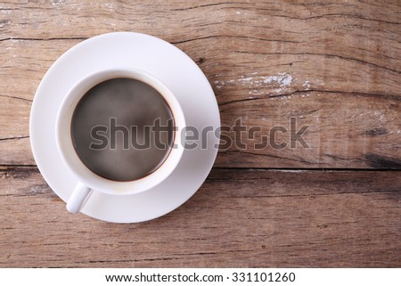 smile steaming coffee in morning time