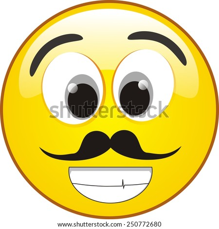 Flattered smiley