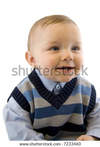 Smiling Baby Boy - Age six to twelve months