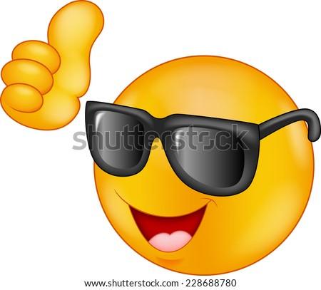how to make sunglasses emoji