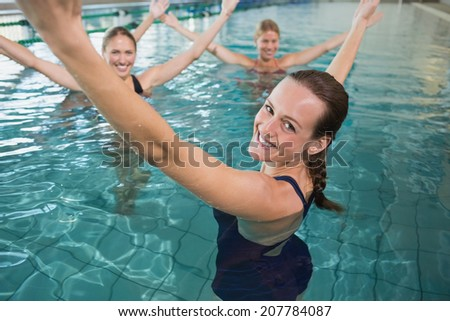 Aqua Aerobics Stock Images Royalty Free Images Vectors Shutterstock
