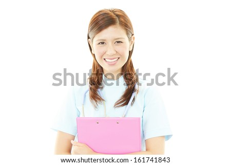 Smiling female nurse